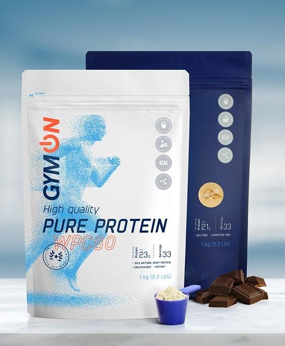 Specialus pasiūlymas: gryni baltymai (1 kg) ir šokoladinis (1 kg)