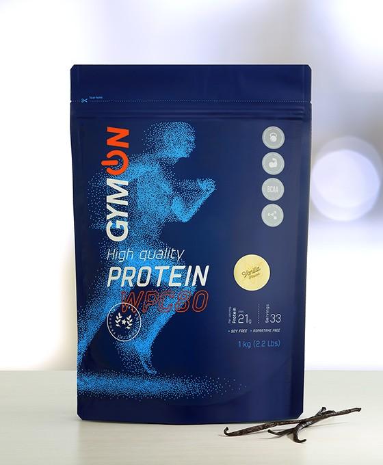 Vanilla flavour protein  WPC80
